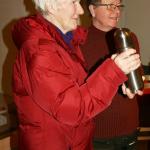 Bästa hamiltonstövare Spjutvikens Elvis äg, Kerstin Bergmark Fällfors (82 år)