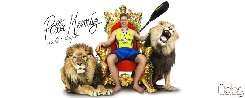 Vi sponsrar Petter Menning