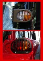 Lampskydd för Valtra N-serie