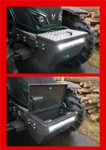 Valtra N4-serie med verktygslåda