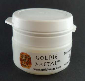 Goldie metall-lera 50g