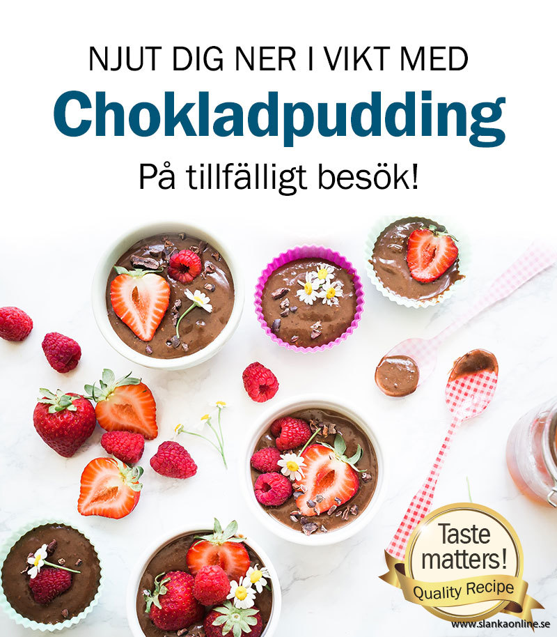 Chokladpudding PR bild