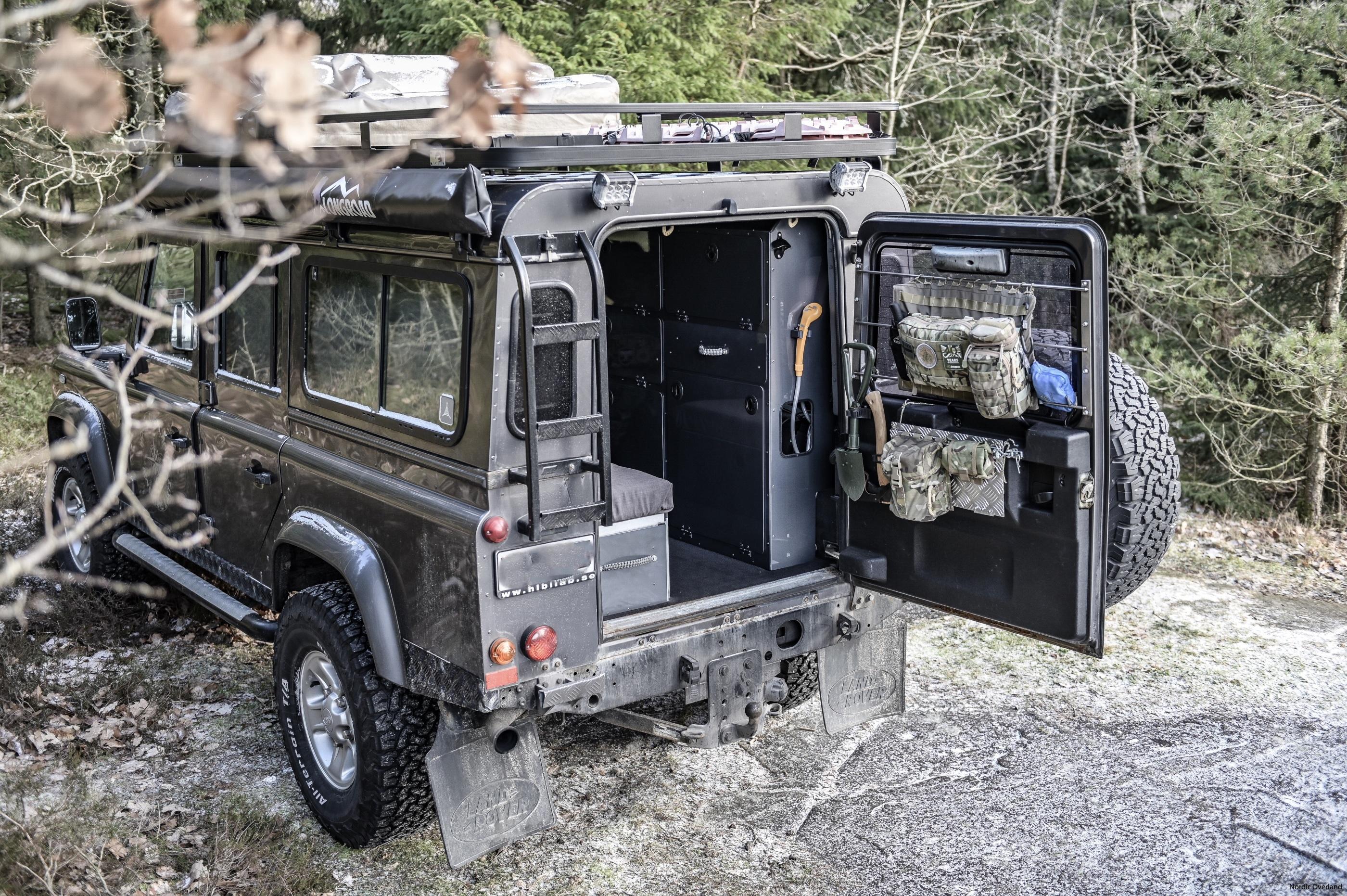 Defender 110 Camper Interior System Nordic Overland