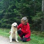 Fanny (Bråtaledet Everlasting Ember)  & Matte tränar viltspår