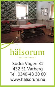 Hos osteopaten, så går det till vid ett besök hos osteopaten på Hälsorum i Varberg