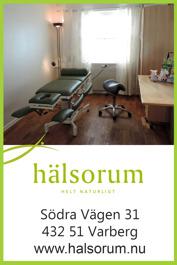 Klassisk massage hos massör på Hälsorum i Varberg