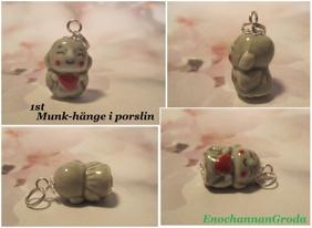 1st Buddha MUNK HÄNGE (porslin) - 1st