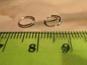 50st Silverfärgade (split) Ringar 7mm