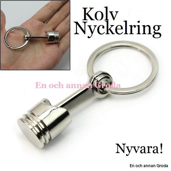 nyckelring kolv