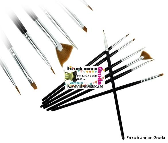 7-pack pensel