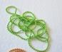 KEDJA välj färg (kulkedja) 1,5mm x 70cm -  1,5mm limegrön ca 70cm lång