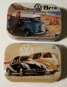 Välj! 1st Plåtask med sockerfria mintpastiller VW Bubbla/Folkvagn/Buss typ 1 typ 2 RETRO