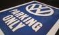 VW PARKING ONLY METALLSKYLT 20x15cm  Bubbla/Folkvagn/Buss typ 1 typ 2