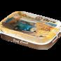Välj! 1st Plåtask med sockerfria mintpastiller VW Bubbla/Folkvagn/Buss typ 1 typ 2 RETRO - BUSS (Bay högtakare)