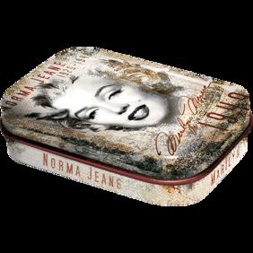 1st Plåtask med sockerfria mintpastiller Marilyn Monroe (Norma Jean) Hollywood -