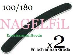 svart fil - 2 grodan