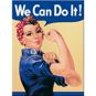 MAGNET (metall) We can do it! Feminist - 2st magneter