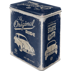 VW The original Ride BUBBLA BURK METALL 10,5x14,5x19,5cm Nostalgi Retro  -