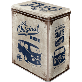 VW The original Ride BUSS BURK METALL 10,5x14,5x19,5cm Nostalgi Retro -
