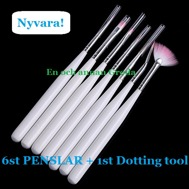 6st PENSLAR + 1st DOTTING TOOL