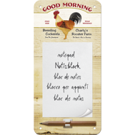 TUPP Good Morning METALL memo BLOCK 10x20cm HÖNS
