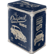 VW The original Ride BUBBLA BURK METALL 10,5x14,5x19,5cm Nostalgi Retro