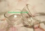 2st DAPPEN DiSH För akryl vätska/pulver/glitter mm i GLAS
