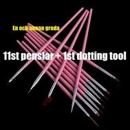 11st PENSLAR + 1st dotting tool Rosa