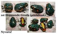 1st Hoppande GRODA (plåt)
