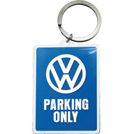 NYCKELRiNG VW PARKING ONLY RETRO Volkswagen typ 1 typ 2
