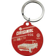 NYCKELRiNG VW The original ride GOLF Folka RETRO Volkswagen