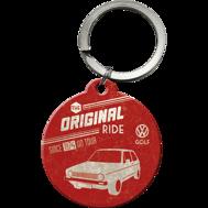 NYCKELRiNG VW The original ride GOLF Folka RETRO Volkswagen