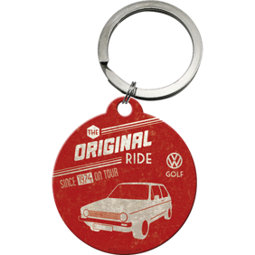 NYCKELRiNG VW The original ride GOLF Folka RETRO Volkswagen -