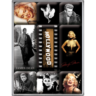 Hollywood - Magneter - Audrey Hepburn - Marilyn Monroe - James Dean