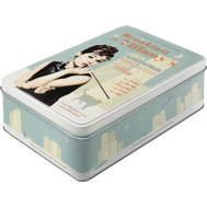 Breakfast at Tiffany's Audrey Hepburn BURK METALL 7,3x15,6x23cm