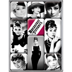 Magneter Breakfast at Tiffany's - Audrey Hepburn -