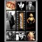 Hollywood - Magneter - Audrey Hepburn - Marilyn Monroe - James Dean