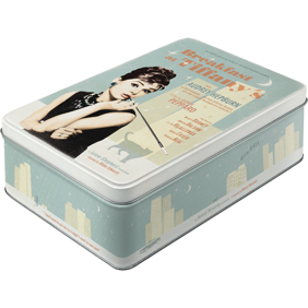 Breakfast at Tiffany's Audrey Hepburn BURK METALL 7,3x15,6x23cm -