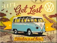 MAGNET VW LETS Get Lost Buss Folkvagn/Buss typ 2