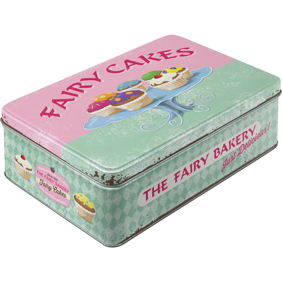 FAIRY CAKES / MUFFINS BURK METALL 7,3x15,6x23cm -