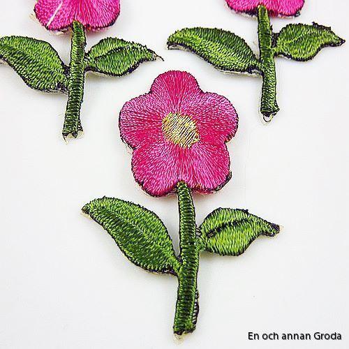 tygm rosa blomma