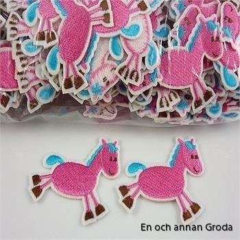 tygm rosa häst