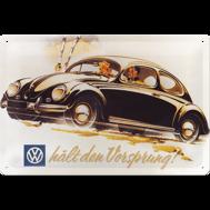 METALLSKYLT 20x30cm BUBBLA typ 1 VW VOLKSWAGEN