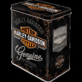 Harley-Davidson BURK METALL 10,5x14,5x19,5cm -
