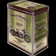 Harley-Davidson BURK Knucklehead 1936 METALL 10,5x14,5x19,5cm