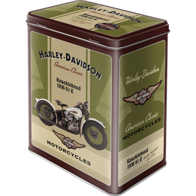 Harley-Davidson BURK Knucklehead 1936 METALL 10,5x14,5x19,5cm -
