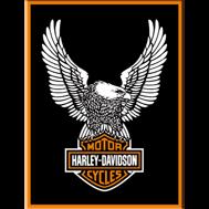 MAGNET Harley-Davidson ÖRNEN