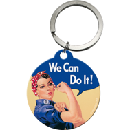 NYCKELRiNG We Can Do It! FEMINIST