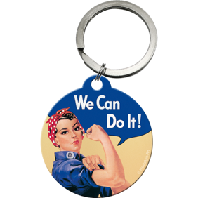 NYCKELRiNG We Can Do It! FEMINIST -
