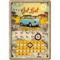 VW - LETS Get Lost Be Prepared to start your own adventure! METALLSKYLT/VYKORT/Kalender 10x14,5cm Buss Folka